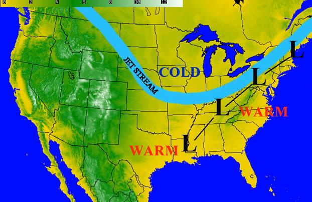 Oklahoma Farm Report We Talk La Nina With Travis Meyer Of The - Map of weather patterns in the us