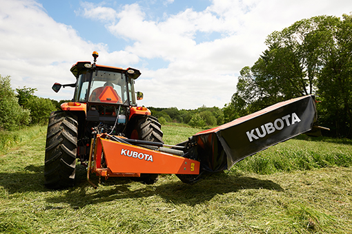 Baling Hay With Kubota : Oklahoma farm report kubota expanding hay and forage line